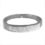 18kt White Gold and Diamond Bangle Bracelet