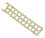18kt Yellow Gold Open Link Bracelet