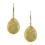 18kt Yellow Gold Textured Earrings