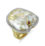 14kt Yellow Gold, Ikecho Pearl Ring with Ruby