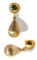 14kt and 18kt Yellow Gold Earrings